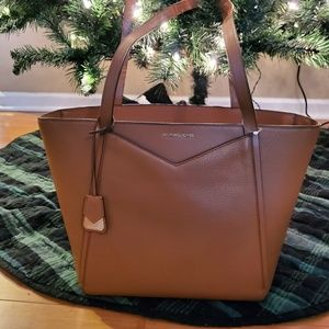 MICHAEL KORS Large Leather Whitney Tote NWT